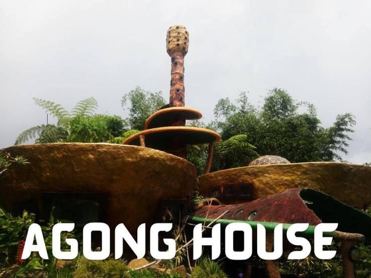 The famous house at Kublai Art Garden