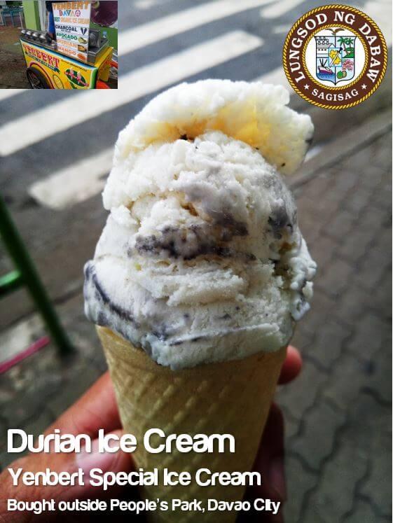 DAVAO CITY_DURIAN ICE CREAM