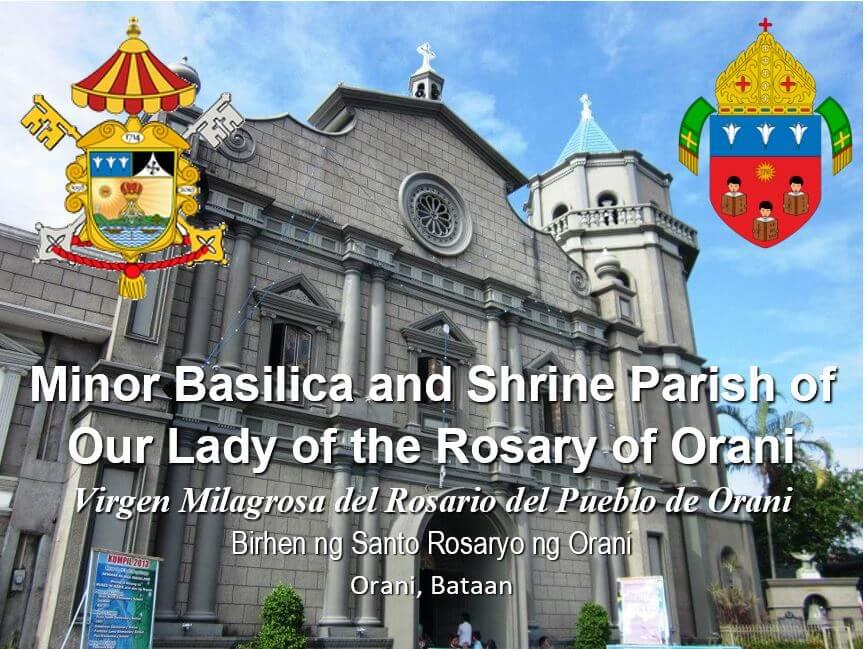 1bataan_orani Minor Basilica and Shrine Parish of Our Lady of the Rosary of Orani