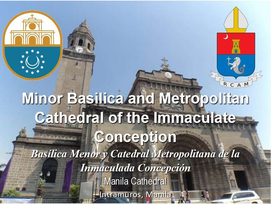 1manila_Minor Basilica and Metropolitan Cathedral of the Immaculate Conception