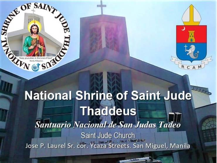 1manila_National Shrine of Saint Jude Thaddeus