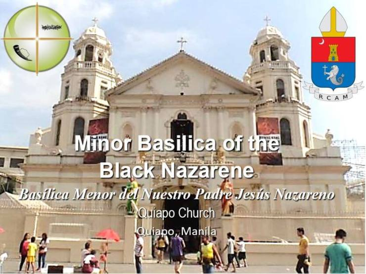 1manila_quiapo Minor Basilica of The Black Nazarene