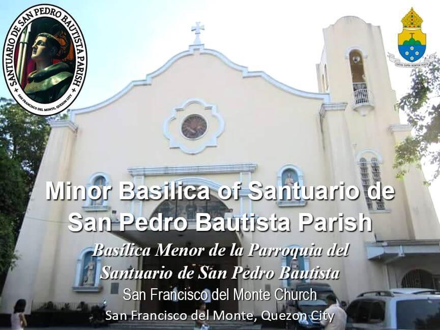 1quezon city_Santuario de San Pedro Bautista Parish July092020